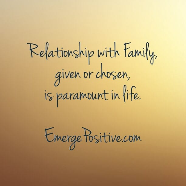 Know what is really important in life - Emerge Positive - Emerge ...