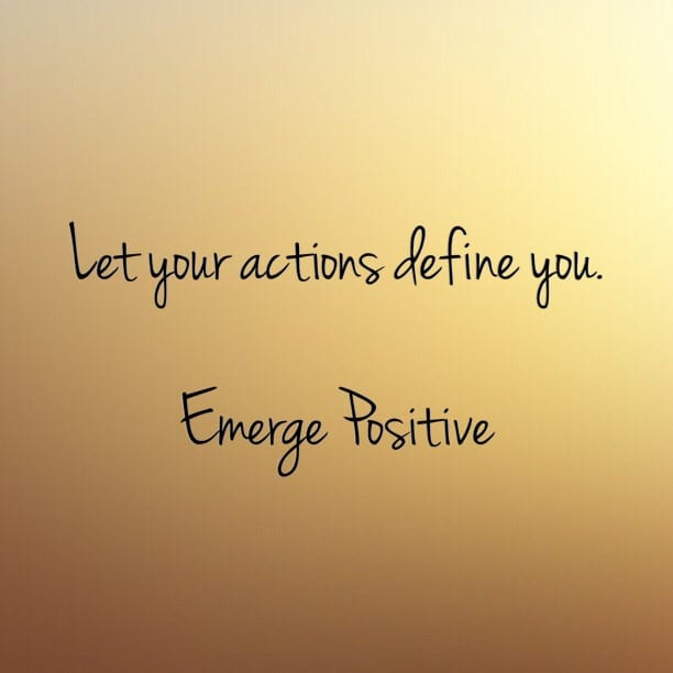 Don't give away your power... - Emerge Positive - Emerge Positive